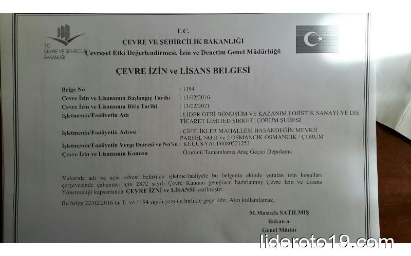 İstanbul Araç Bertaraf Formu 02166617110