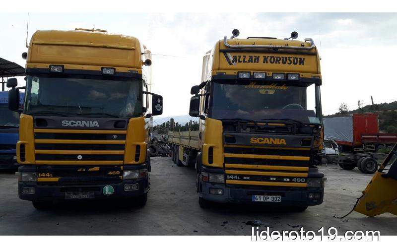 satılık Topline Scanıa Vabis 144L 460 satılık tır