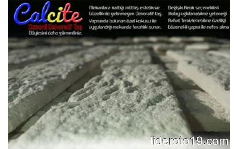 Calsite Dekoratif Taş - Medeniyetlerin tercihi ...