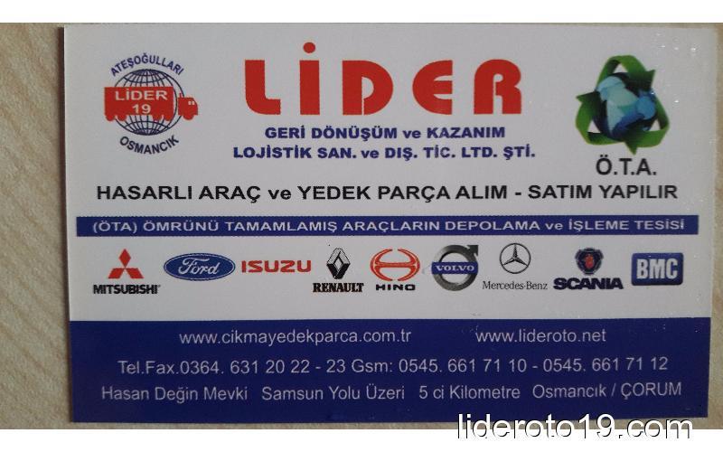 iveco daily ikinci el orjinal çıkma TURBO  Yedek Parça
